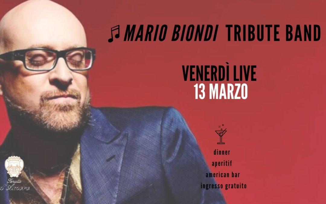 Mario Biondi tribute band: venerdì 13 marzo